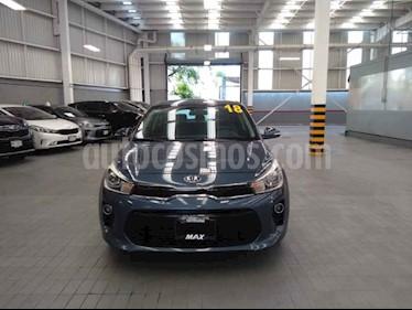 Foto venta Auto usado Kia Rio Hatchback EX Pack Aut (2018) color Azul precio $268,000