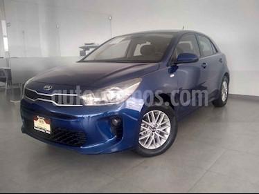 Foto venta Auto usado Kia Rio Hatchback LX (2018) color Azul precio $210,000