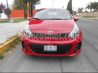 Foto venta Auto Seminuevo Kia Rio Hatchback LX (2016) color Rojo precio $160,000