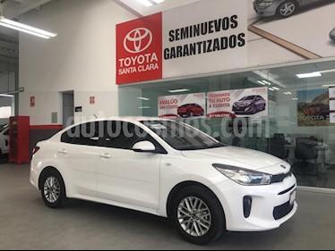 Foto venta Auto usado Kia Rio Hatchback LX (2018) color Blanco precio $210,000