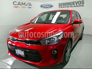 Kia Rio Hatchback EX usado (2020) color Rojo precio $296,900