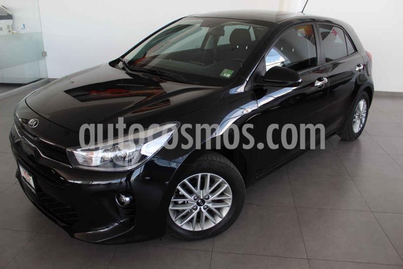 Kia Rio Hatchback EX usado (2019) color Negro precio $259,000
