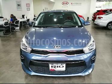 Kia Rio Hatchback EX usado (2018) color Azul precio $229,000