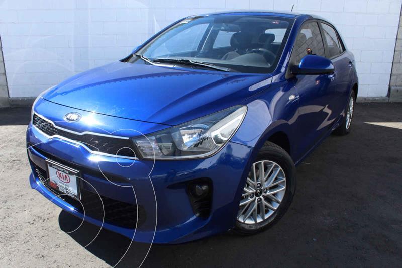 Kia Rio Hatchback LX usado (2018) color Azul precio $205,000