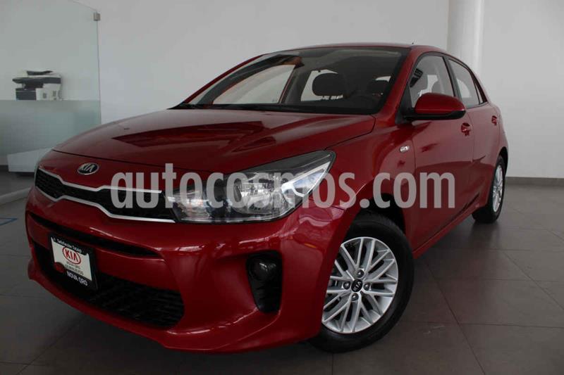 Kia Rio Hatchback LX usado (2018) color Rojo precio $205,000