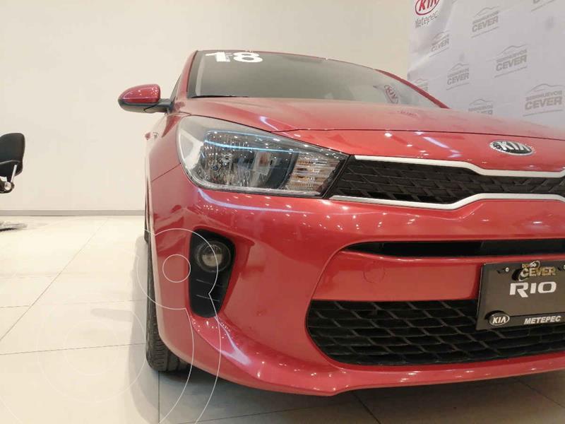 Foto Kia Rio Hatchback LX usado (2018) color Rojo precio $209,900
