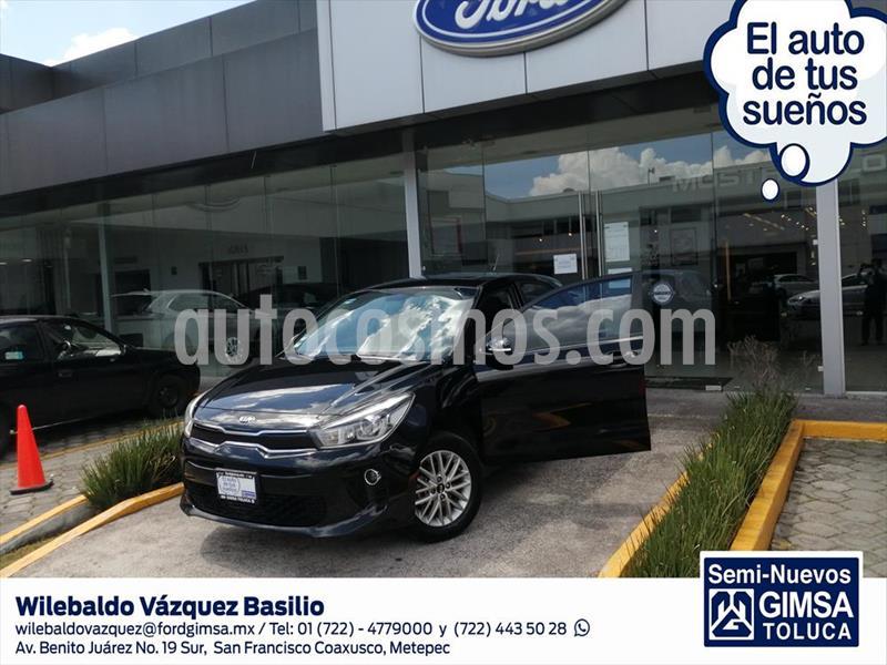 Kia Rio Hatchback EX usado (2018) color Negro precio $178,000