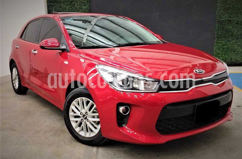 Kia Rio Hatchback EX usado (2020) color Rojo precio $229,999
