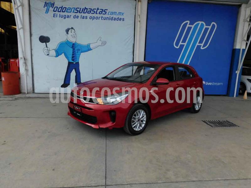 Kia Rio Hatchback LX usado (2018) color Rojo precio $133,000