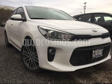 Kia Rio Hatchback EX Pack Aut usado (2018) color Blanco precio $258,000