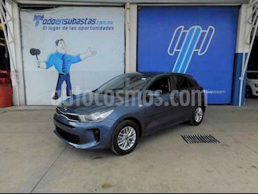 Kia Rio Hatchback LX Aut usado (2019) color Azul precio $95,000