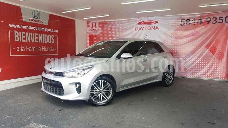 Kia Rio Hatchback EX Pack Aut usado (2018) color Plata precio $246,000