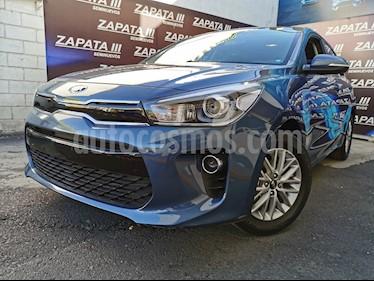 Kia Rio Hatchback EX Aut usado (2018) color Azul Azzuro precio $235,000