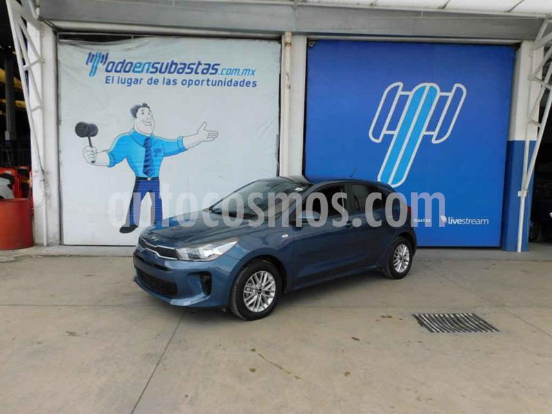 Kia Rio Hatchback LX Aut usado (2019) color Azul precio $148,000