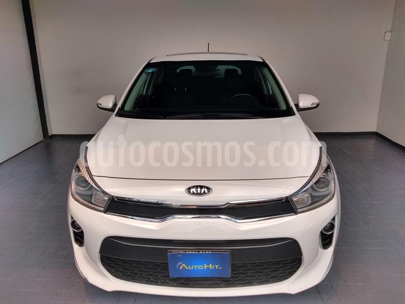 Kia Rio Hatchback EX Pack Aut usado (2018) color Blanco precio $245,000