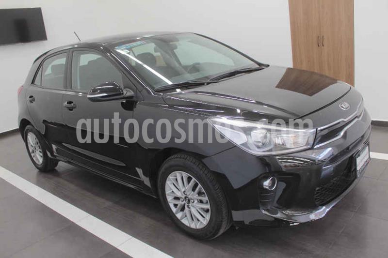 Kia Rio Hatchback EX Aut usado (2018) color Negro precio $235,000