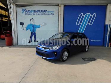 Kia Rio Hatchback LX Aut usado (2020) color Azul precio $114,000