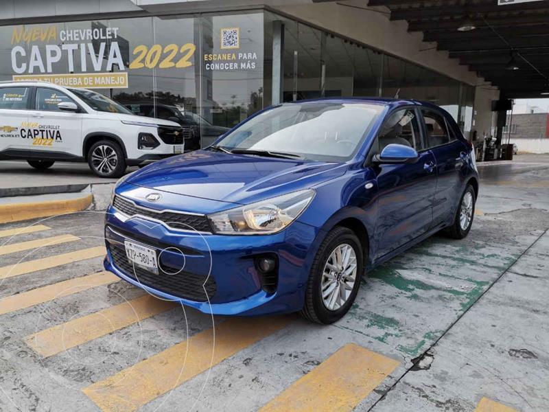 Foto Kia Rio Hatchback LX Aut usado (2018) color Azul precio $198,000