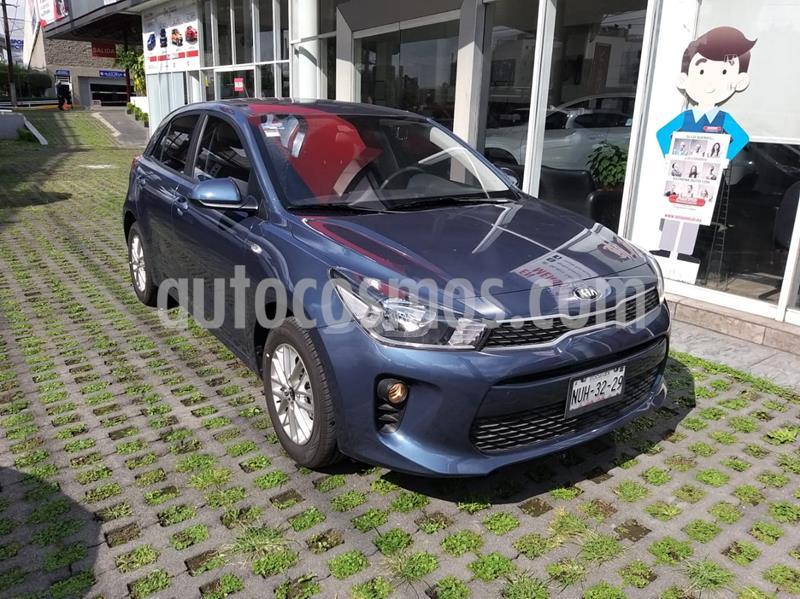 Kia Rio Hatchback LX Aut usado (2020) color Azul precio $235,000