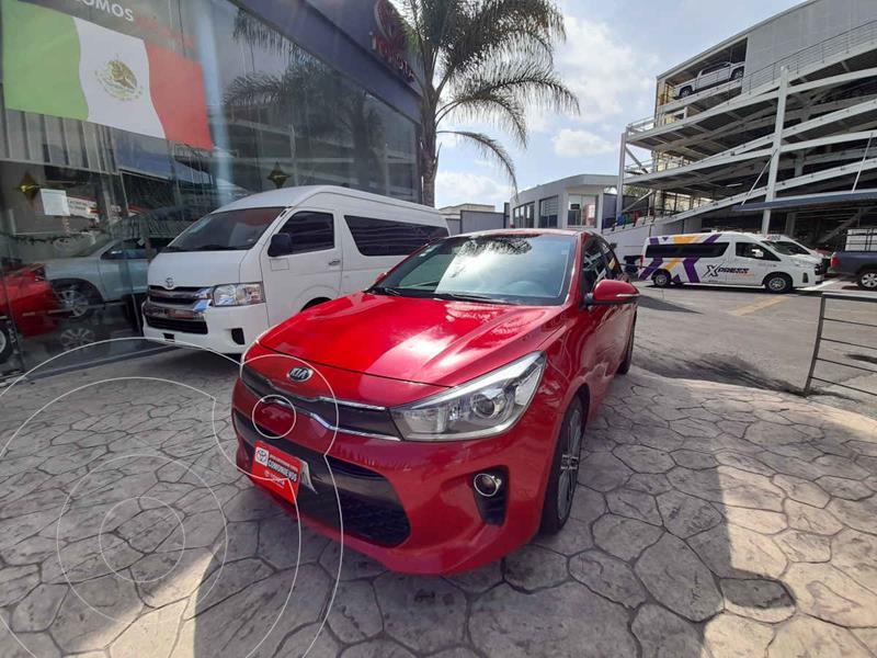 Foto Kia Rio Hatchback EX Pack Aut usado (2018) color Rojo precio $235,000