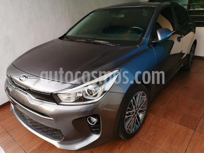 Kia Rio Hatchback EX Pack Aut usado (2018) color Azul Gris precio $239,999