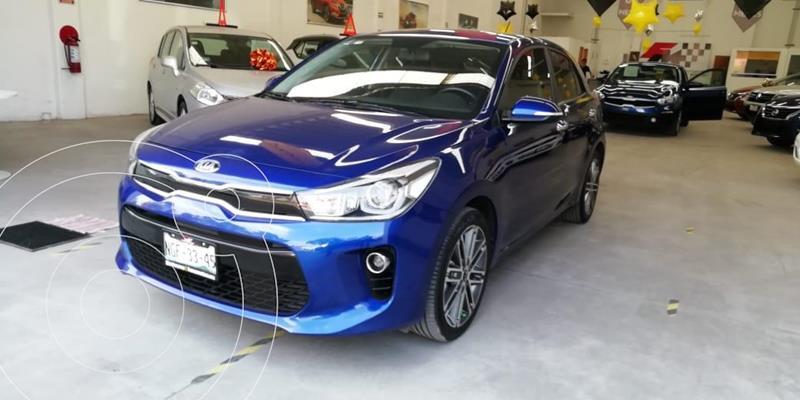Foto Kia Rio Hatchback EX Pack Aut usado (2019) color Azul Azzuro precio $265,000