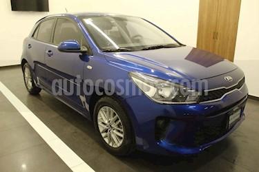 Kia Rio Hatchback EX usado (2019) color Azul precio $219,000
