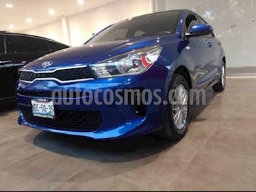 Kia Rio Hatchback LX usado (2019) color Azul precio $219,000