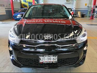 Kia Rio Hatchback EX Pack Aut usado (2019) color Negro precio $255,000
