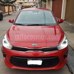 KIA Rio Hatchback 1.4L EX Full Aut Plus usado (2018) color Rojo precio $14,000