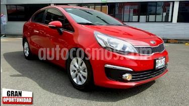 Foto venta Auto usado Kia Rio Sedan 4p EX L4/1.6 Man (2017) color Rojo precio $198,000