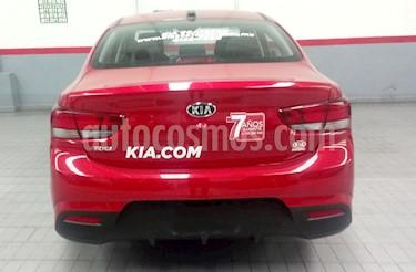 Kia Rio Sedan 4p EX L4/1.6 Man usado (2018) color Rojo precio $269,000