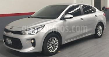 Foto venta Auto usado Kia Rio Sedan 4p EX L4/1.6 Man (2018) color Plata precio $235,000