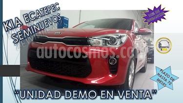 Foto venta Auto usado Kia Rio Sedan 4p EX L4/1.6 Man (2018) color Rojo precio $269,000