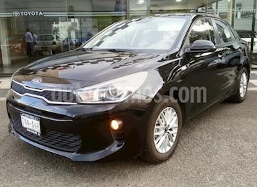 Foto Kia Rio Sedan 4p LX L4/1.6 Man usado (2018) color Negro precio $199,000