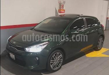 Foto venta Auto usado Kia Rio Sedan 5p EX L4/1.6 Aut Pack (2018) color Verde precio $279,000