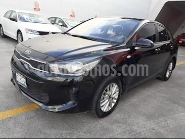 Foto venta Auto usado Kia Rio Sedan 5p LX L4/1.6 Man (2018) color Negro precio $199,000