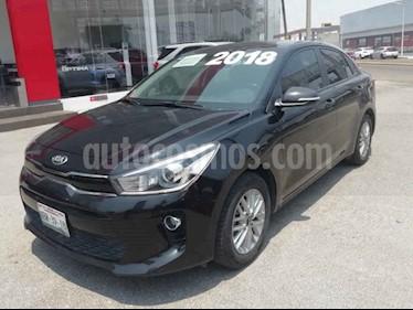 Foto venta Auto usado Kia Rio Sedan EX Aut (2018) color Negro precio $249,000