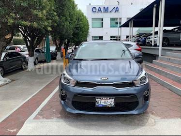Foto venta Auto usado Kia Rio Sedan EX Aut (2018) color Azul precio $239,900