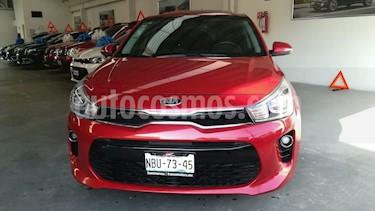 Foto venta Auto usado Kia Rio Sedan EX (2018) color Rojo Fuego precio $269,000
