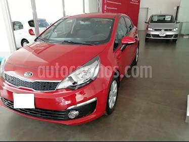 Foto venta Auto usado Kia Rio Sedan EX (2016) color Rojo precio $186,000