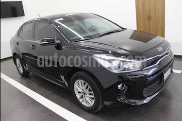 Foto venta Auto usado Kia Rio Sedan EX (2018) color Negro precio $219,000