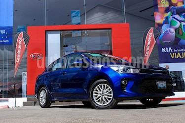 Foto venta Auto usado Kia Rio Sedan EX (2018) color Azul precio $248,000