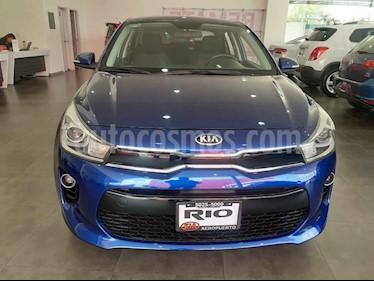 Foto venta Auto usado Kia Rio Sedan EX (2018) color Azul precio $229,000