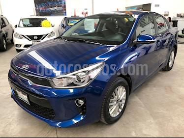 Foto venta Auto usado Kia Rio Sedan EX (2018) color Azul precio $235,000