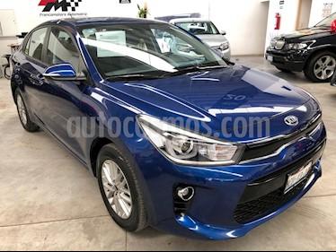 Foto venta Auto usado Kia Rio Sedan EX (2018) color Azul precio $225,000
