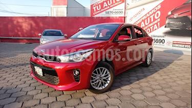 Foto venta Auto Seminuevo Kia Rio Sedan EX (2018) color Rojo precio $240,000