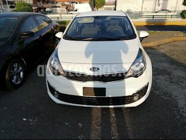 Foto venta Auto usado Kia Rio Sedan EX (2016) color Blanco precio $179,000