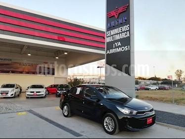 Foto venta Auto usado Kia Rio Sedan LX (2018) color Negro Perla precio $219,000