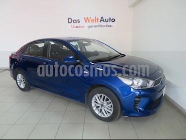 Foto venta Auto usado Kia Rio Sedan LX (2018) color Azul precio $196,995